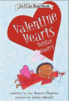 Valentine Hearts Poetry Books
