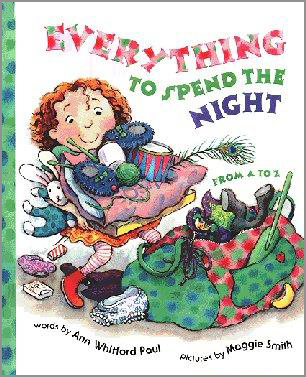 everything to spend the night picture Book