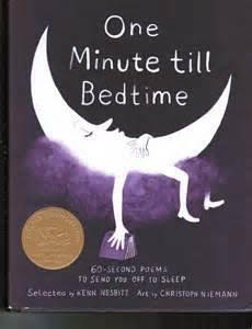 One Minute Till bedtime Poetry Books