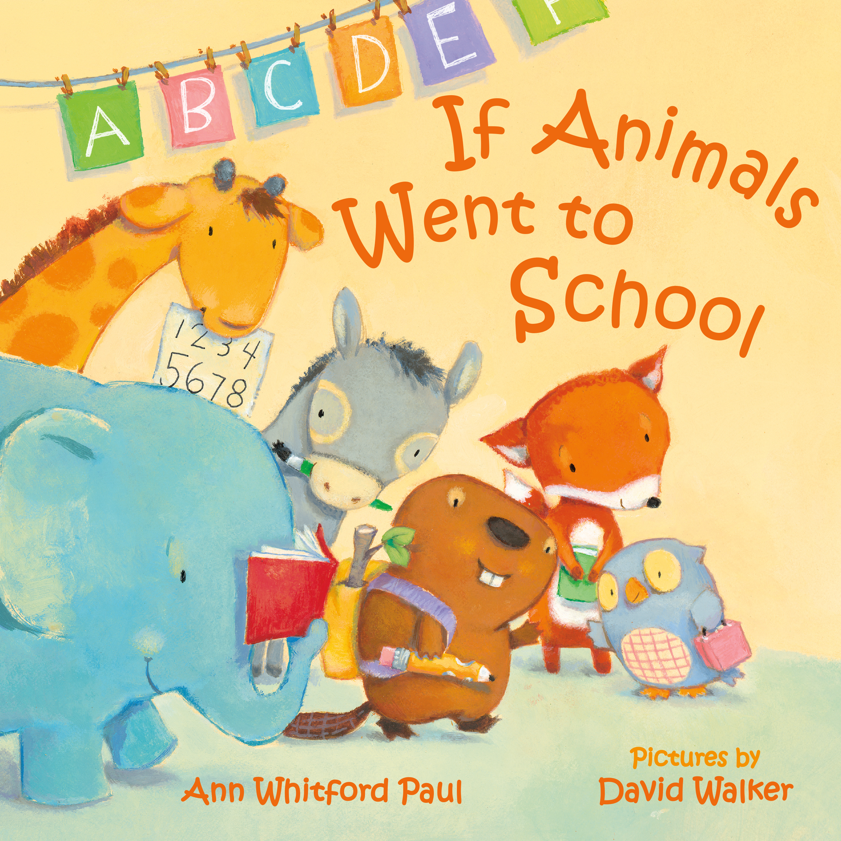 If Animals Went to School Picture Book